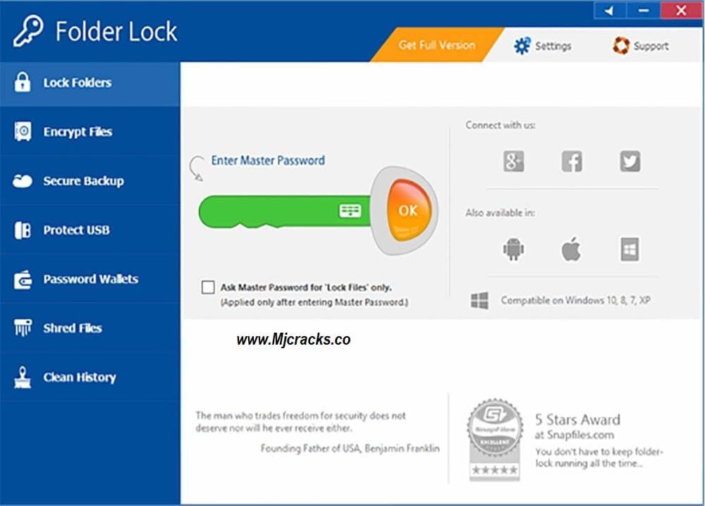Folder Guard 21.4.0 License Key