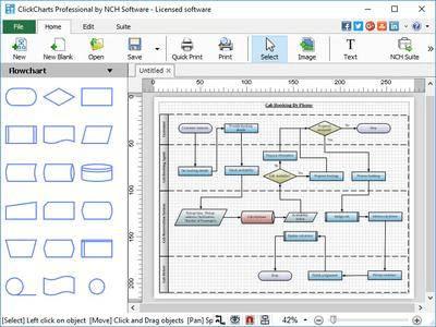 NCH ClickCharts Pro 5.36 Serial Key
