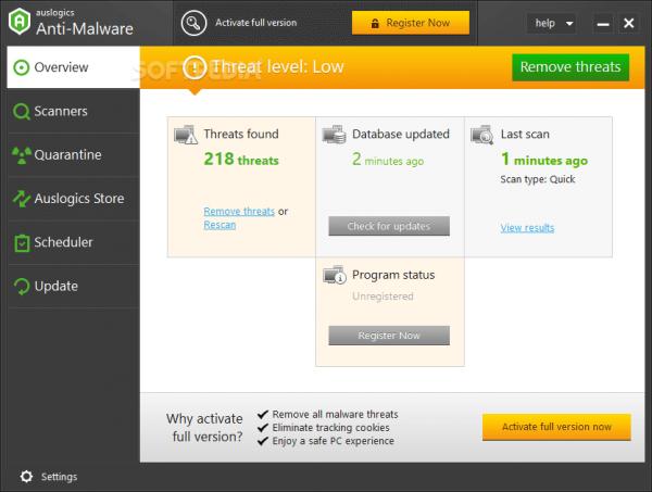 Auslogics Anti-Malware 1.21.0.3 + Keygen
