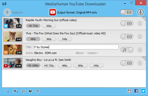 MediaHuman YouTube Downloader 3.9.9.32 + Crack