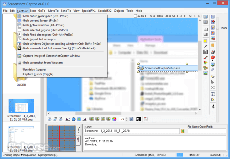 Screenshot Captor 4.36.2 + Keygen
