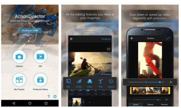 ActionDirector Video Editor Cracked APK v3.5.1 + Crack