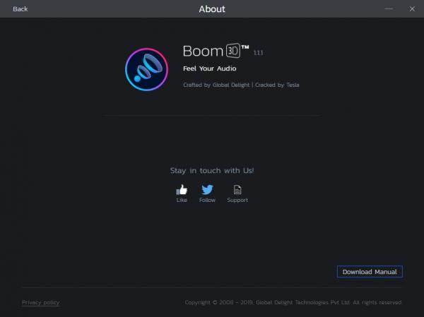 Boom 3D 1.3.9 + Keygen