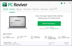 ReviverSoft PC Reviver 3.9.0.24 + Keygen