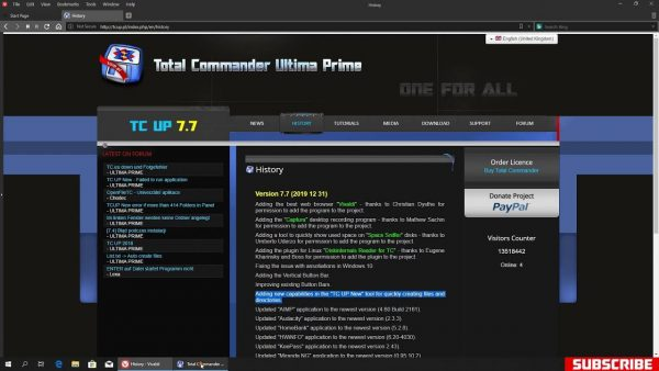 Total Commander Ultima Prime 9.51 Keygen