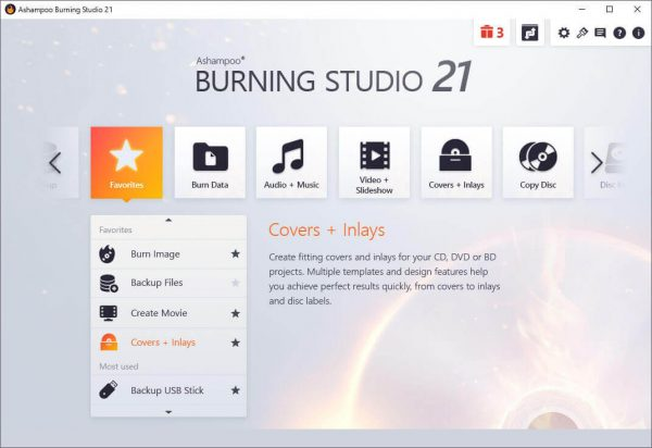 Ashampoo Burning Studio 21.5.0.57 + Crack