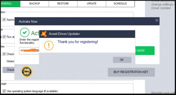 Avast Driver Updater 2.5.9 + Keygen
