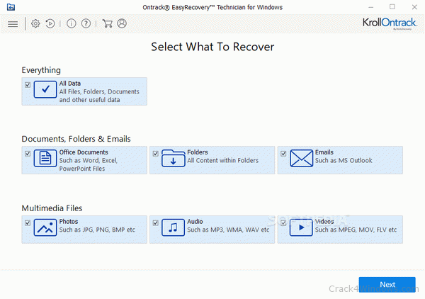 EasyRecovery Professional 14.0.0.5 + Crack