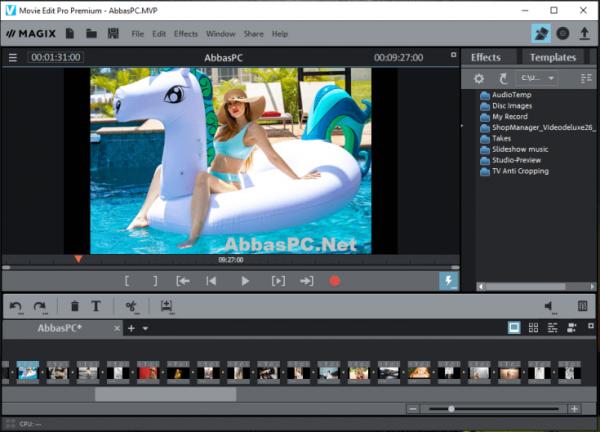 MAGIX Movie Edit Pro 2020 Premium 19.0.2.58 + Keygen