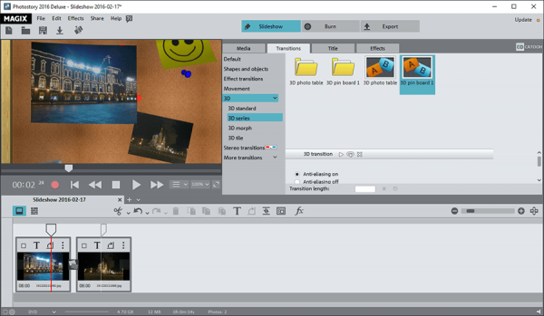 MAGIX Photostory Deluxe 2021 v20.0.1.62 Registration Key