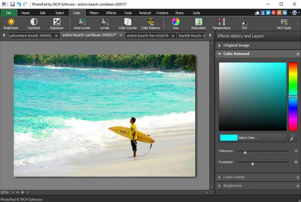 NCH PhotoPad Image Editor Pro 6.08 + Registration Code