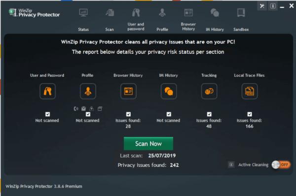 WinZip Privacy Protector Premium 3.9.1 + Keygen