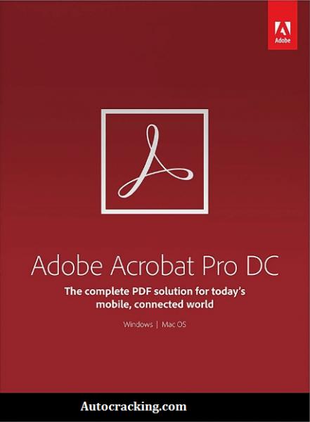 Adobe Acrobat Pro DC 2020 Crack + Serial Key Free Download