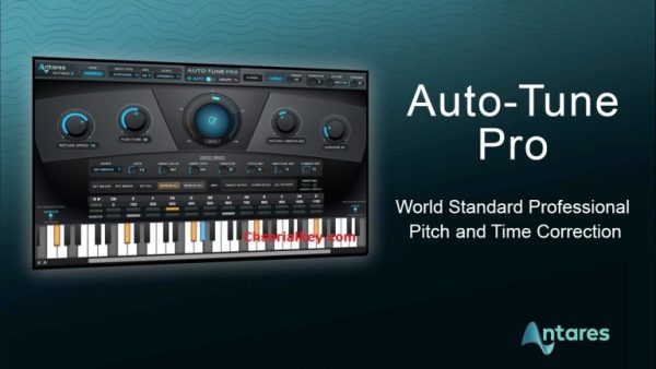 Antares AutoTune Pro 9.1.1 Crack + Serial Key Free Download
