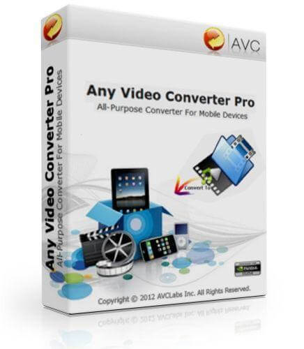 Any Video Converter Pro 7.0.4 Crack + Serial Key Free Download