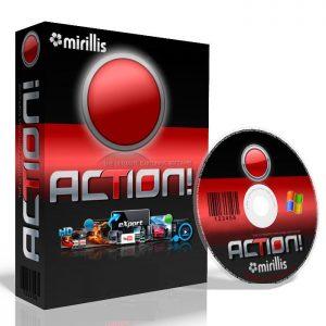 Mirillis Action 4.12.1 Crack + Keygen Free Download