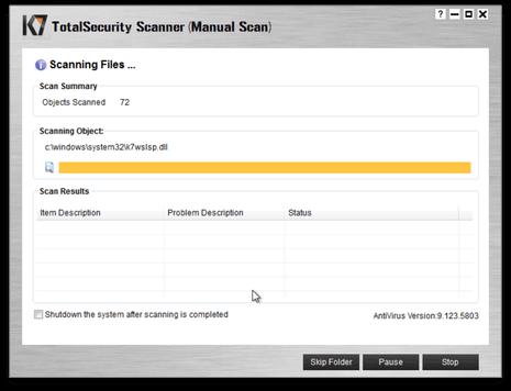 K7 Total Security 16.0.0450 Serial Key