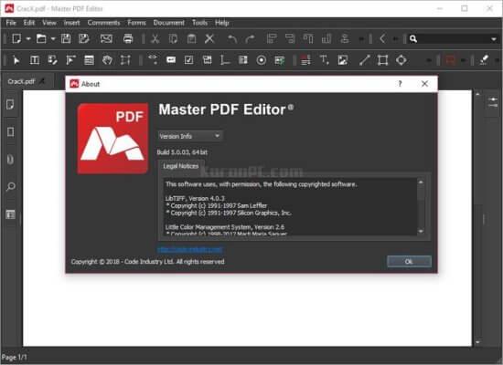 Master PDF Editor 5.6.18 Crack