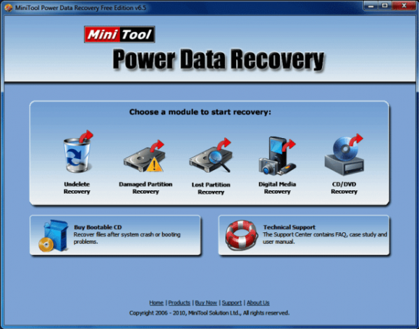 MiniTool Power Data Recovery 9.1 Crack