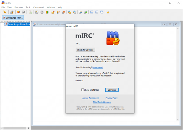 mIRC 7.61 Patch + Keygen Free Download