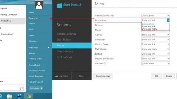 IObit Start Menu 8 Pro 5.3.0.6 Keygen