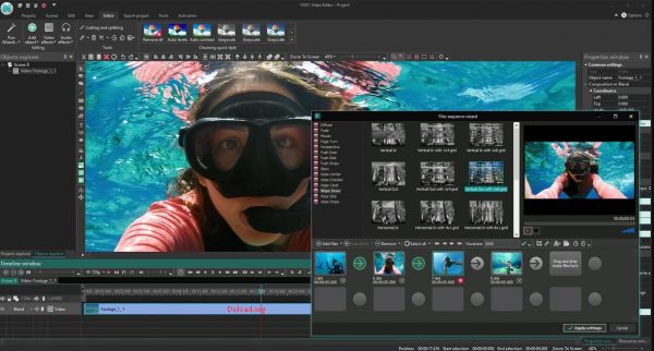 VSDC Video Editor Pro 6.6.4.265 Keygen