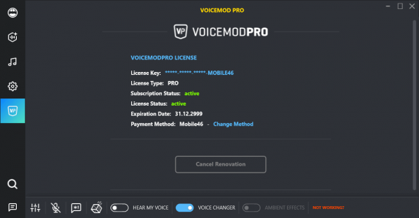 Voicemod Pro 2.1.3.2 Keygen