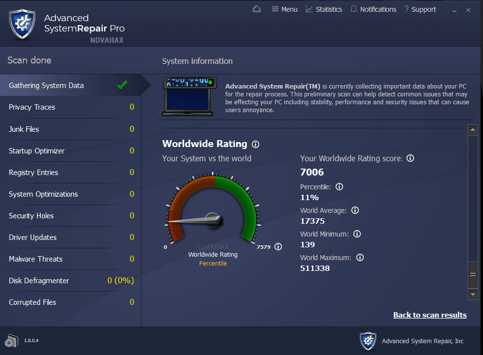 Advanced System Repair Pro 1.9.4.7 Crack