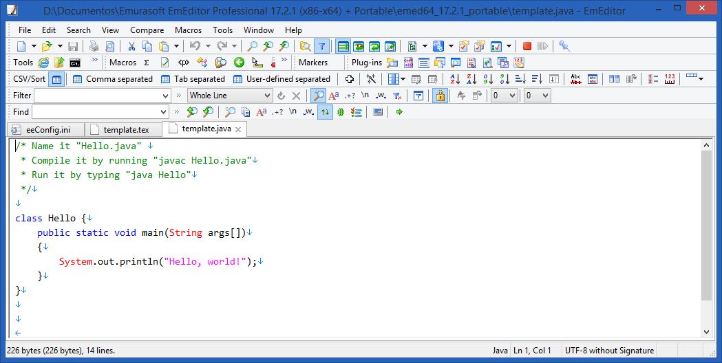 EmEditor Professional 20.2.1 Crack